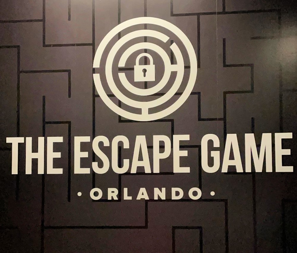 escape game orlando sign