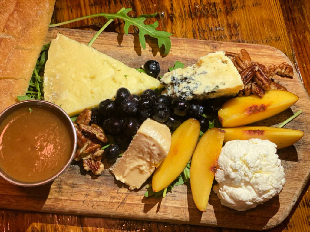 cheese-plate-from-the-floridian-in-st-augustine